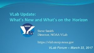 VLab Update Whats New and Whats on the