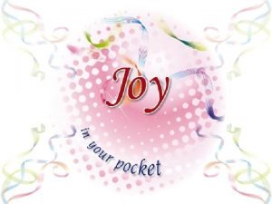 Joy is prayer Joy is strength Joy is