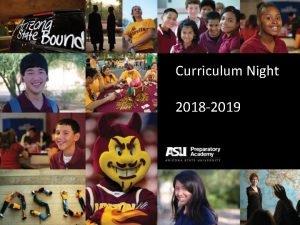 Curriculum Night 2018 2019 Mission ASU Preparatory Academy