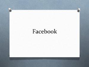 Facebook Facebook O Facebook es un sitio web
