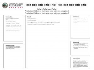 Title Title Title 1 Author and 1 Institutional