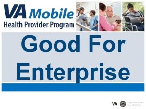 Good For Enterprise Agenda Module 1 Prerequisites Module