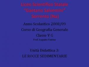 Liceo Scientifico Statale Gaetano Salvemini Sorrento Na Anno