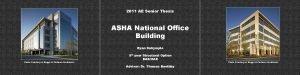2011 AE Senior Thesis ASHA National Office Building