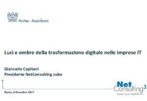 Luci e ombre della trasformazione digitale nelle imprese