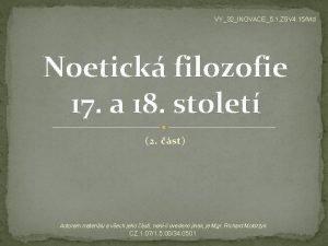 VY32INOVACE5 1 ZSV 4 15Md Noetick filozofie 17
