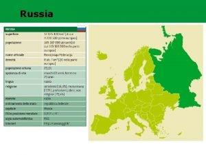 REGIONE RUSSA FEDERAZIONE Russia RUSSA REGIONE RUSSA FEDERAZIONE