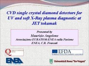 CVD single crystal diamond detectors for UV and