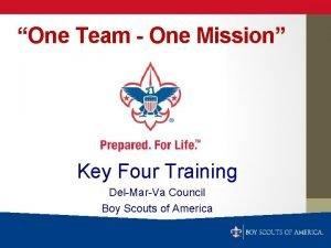 One Team One Mission Key Four Training DelMarVa