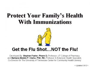 Protect Your Familys Health With Immunizations Get the