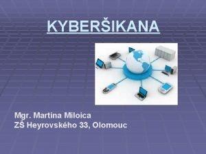 KYBERIKANA Mgr Martina Miloica Z Heyrovskho 33 Olomouc