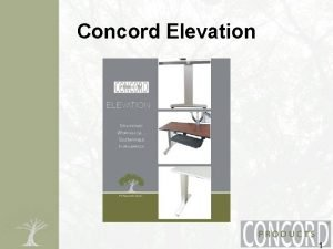 Concord Elevation 1 Concord Elevation Both Vertical Horizontal