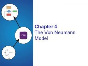 Chapter 4 The Von Neumann Model Copyright The