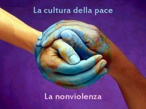 La cultura della pace La nonviolenza Il Mahatma