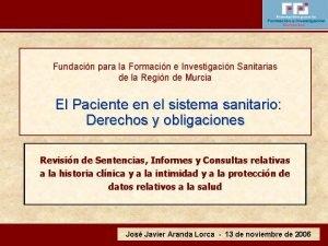 Fundacin para la Formacin e Investigacin Sanitarias de