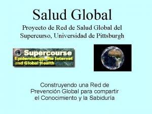 Salud Global Proyecto de Red de Salud Global