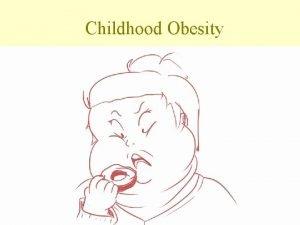 Childhood Obesity Timebomb alert over child obesity Advertising