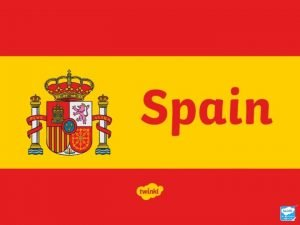 Where Is Spain Spain is a large country