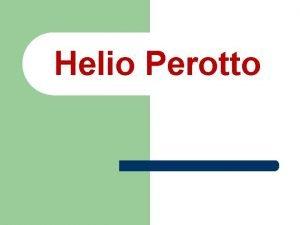 Helio Perotto Avisos parroquiales l 1 Piso stand
