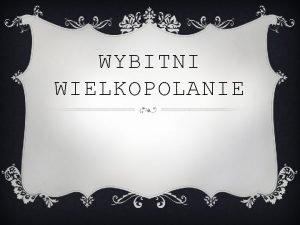 WYBITNI WIELKOPOLANIE KS PIOTR WAWRZYNIAK v Piotr Wawrzyniak