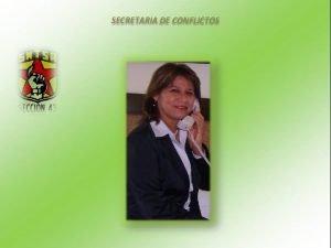 SECRETARIA DE CONFLICTOS SECRETARIA DE CONFLICTOS MAS FRECUENTES