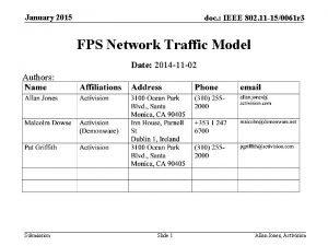 January 2015 doc IEEE 802 11 150061 r
