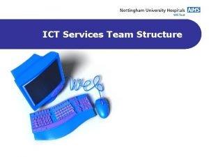 ICT Services Team Structure ICT Directorate Management Team