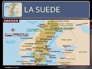LA SUEDE 30112020 LES PPSX DE PATRICIA numero