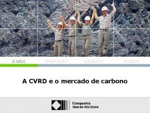 A CVRD e o mercado de carbono A