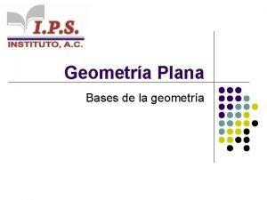 Geometra Plana Bases de la geometra ngulo Concepto