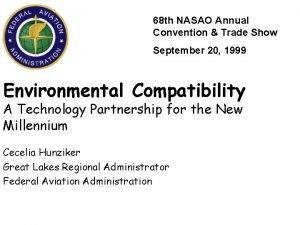 68 th NASAO Annual Convention Trade Show September