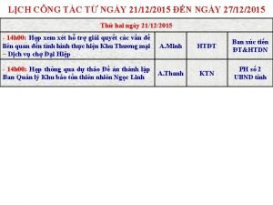 LCH CNG TC T NGY 21122015 N NGY