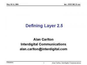 May 10 14 2004 doc IEEE 802 21