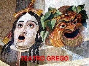TEATRO GREGO TRAGDIA origens Culto de Dionsio Ditirambos