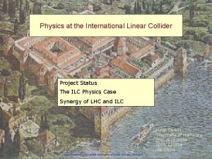 Physics at the International Linear Collider Project Status
