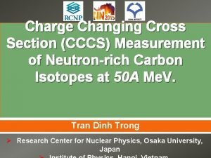 Charge Changing Cross Section CCCS Measurement of Neutronrich