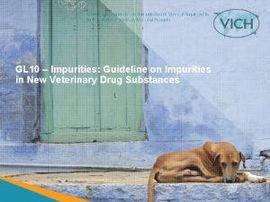 GL 10 Impurities Guideline on Impurities in New