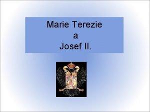 Marie Terezie a Josef II 1713 KAREL VI