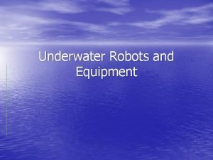 Underwater Robots and Equipment Atmospheric Diving Suits Good