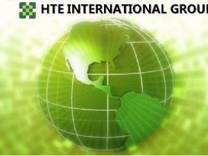 HTE INTERNATIONAL GROUP REGLAS DE LA REUNIN n