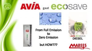 gaat From Full Emission to Zero Emission but