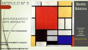 ARTE FIGURATIVO Y ARTE ABSTRACTO UNIDAD 1 Arte