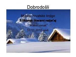 Dobrodoli Mjesec hrvatske knjige 3 likovno literarni natjeaj
