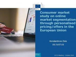 Consumer market study on online market segmentation through