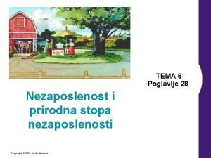 TEMA 6 Poglavlje 28 Nezaposlenost i prirodna stopa