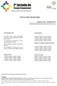 TTULO DO TRABALHO SOBRENOME NOME 1 SOBRENOME NOME