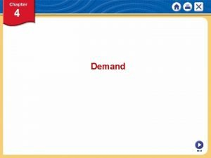 Demand NEXT What is Demand The Law of