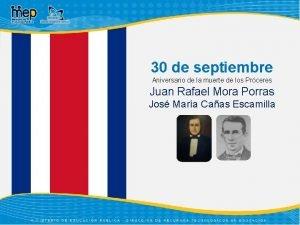 30 de septiembre Aniversario de la muerte de