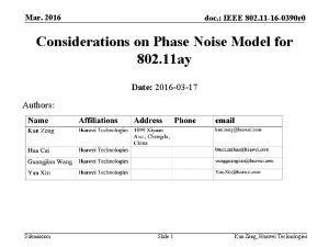 Mar 2016 doc IEEE 802 11 16 0390