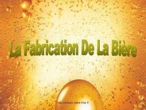http univers biere free fr 1 I Historique